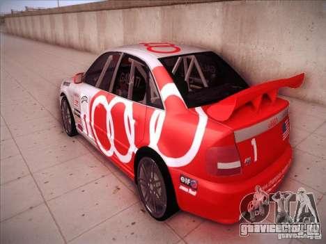 Audi S4 Galati Race для GTA San Andreas вид сзади слева