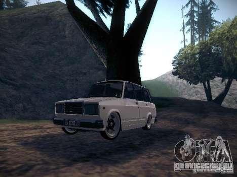 Ваз 2104 Пневмо для GTA San Andreas
