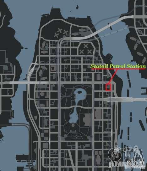 Statoil Petrol Station для GTA 4 четвёртый скриншот