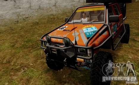 Nissan Navara Off-Road для GTA San Andreas