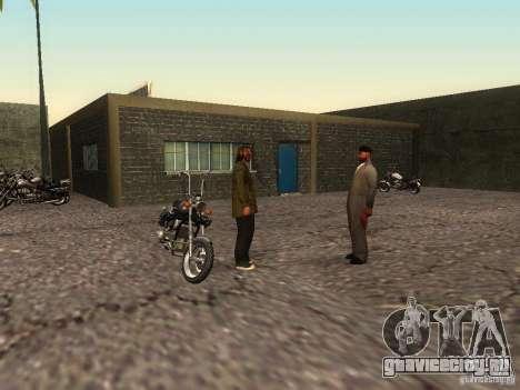 Реалистичная школа байкеров V1.0 для GTA San Andreas шестой скриншот