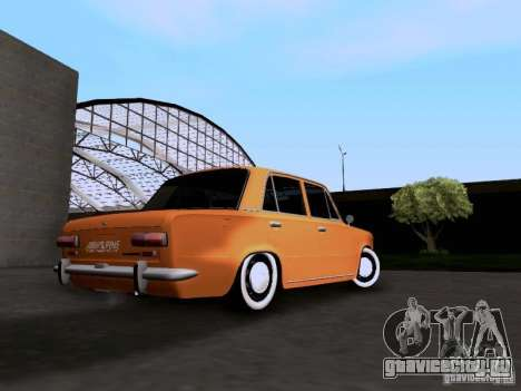 ВАЗ 2101 Resto для GTA San Andreas вид сзади слева