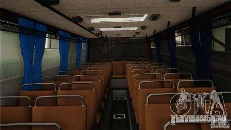 Икарус 255.01 для GTA San Andreas вид изнутри