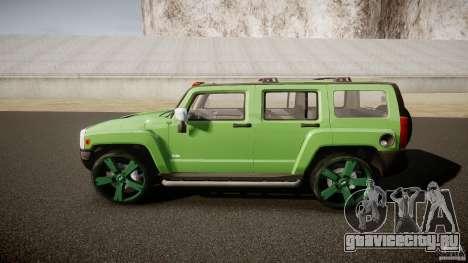 Hummer H3 для GTA 4 вид слева