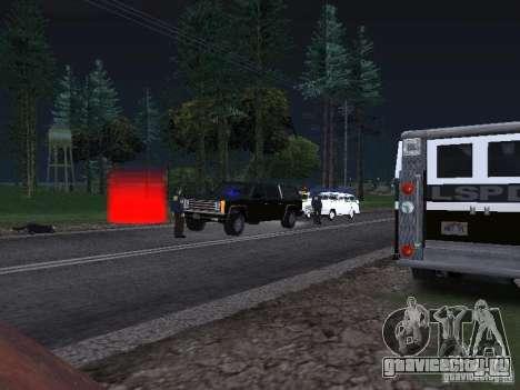 Police Post для GTA San Andreas третий скриншот