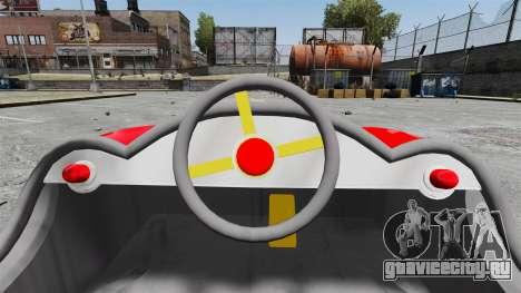 Бамперная машинка для GTA 4 вид сзади