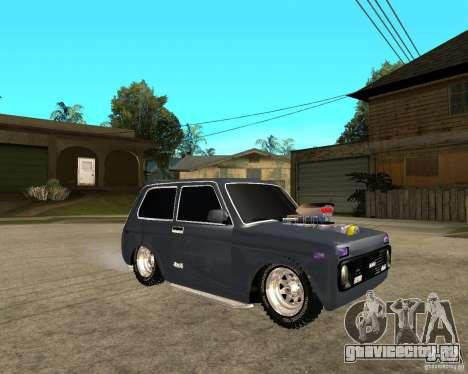 NIVA Mustang для GTA San Andreas вид справа