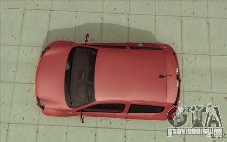 Renault Clio V6 для GTA San Andreas вид справа