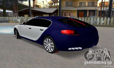 Bugatti Galibier 16c для GTA San Andreas вид сбоку