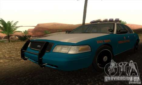 Ford Crown Victoria Georgia Police для GTA San Andreas