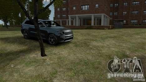 Jeep Grand Cherokee SRT8 для GTA 4 вид справа