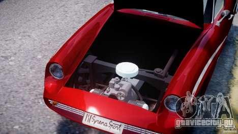 FSO Syrena Sport 1960 для GTA 4 вид сверху