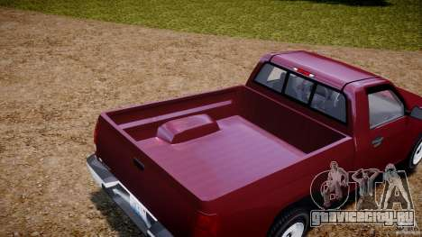 Chevrolet Colorado 2005 для GTA 4 вид изнутри