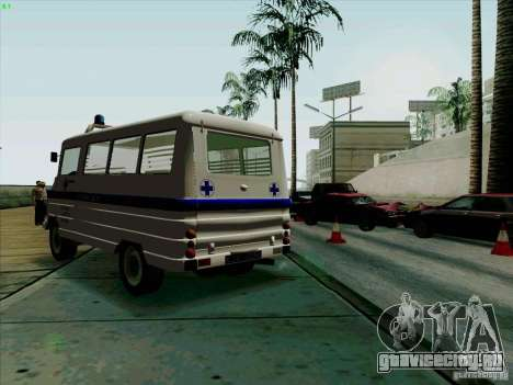 Zuk A-1805 для GTA San Andreas вид слева