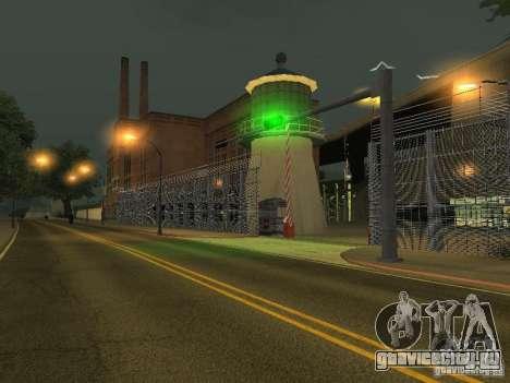 Автобусный парк v1.1 для GTA San Andreas третий скриншот