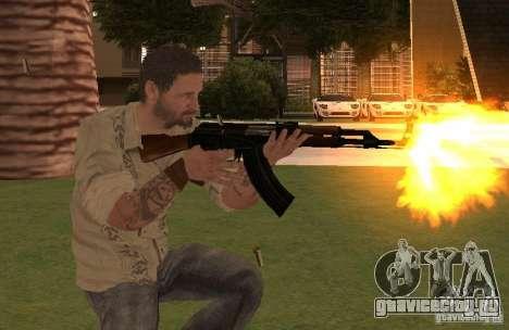Франк Вудс из Call of Duty Black Ops для GTA San Andreas третий скриншот