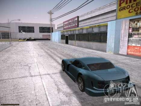 TVR Cerbera Speed 12 для GTA San Andreas вид сзади слева