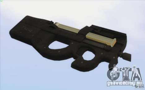 Low Chrome Weapon Pack для GTA San Andreas десятый скриншот