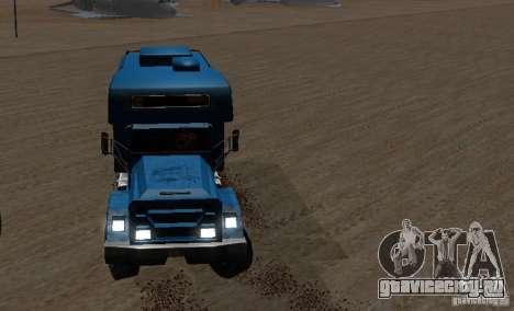 Journey 6x6 Enterable V1 для GTA San Andreas вид сзади слева