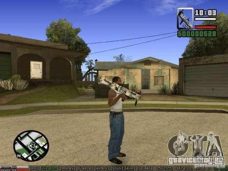 Пак оружия для GTA San Andreas седьмой скриншот