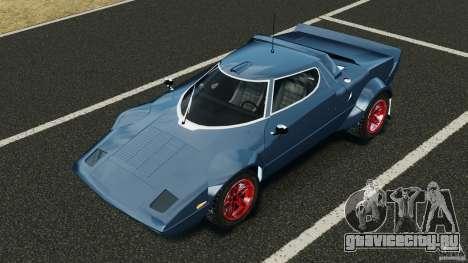 Lancia Stratos v1.1 для GTA 4 вид сверху