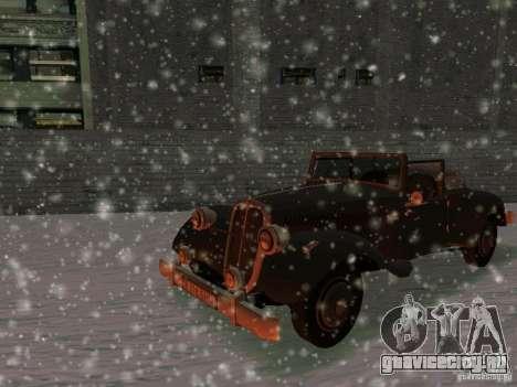 Авто из игры Саботаж для GTA San Andreas