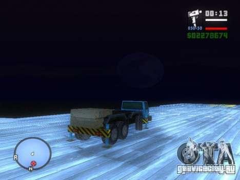 Split Second - Static Truck для GTA San Andreas