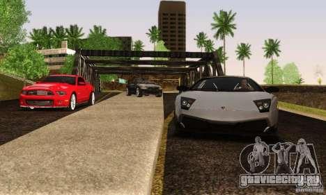 Lamborghini Murcielago LP 670-4 SV для GTA San Andreas вид сзади
