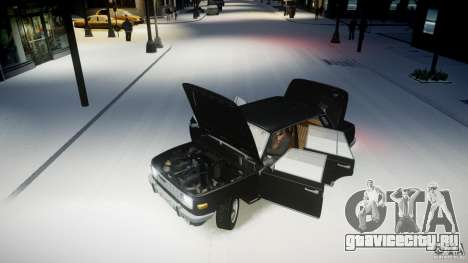 Wartburg 353 W Deluxe для GTA 4 вид сзади