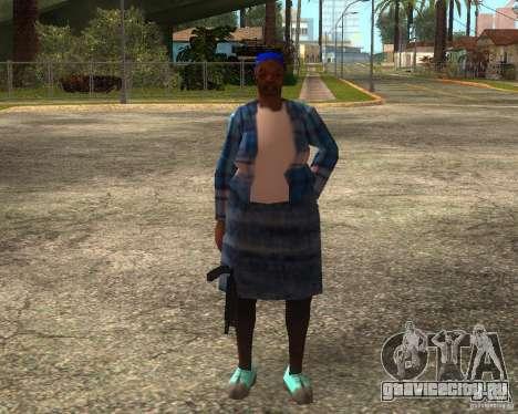 Gangsta Granny для GTA San Andreas шестой скриншот