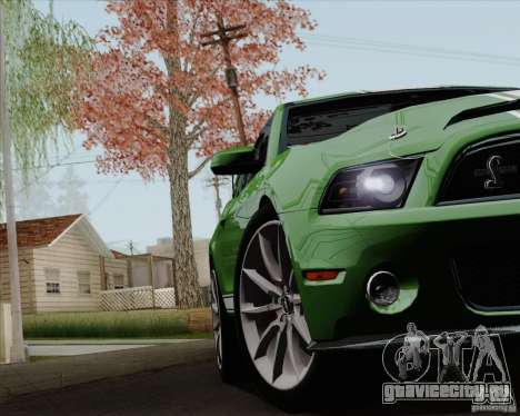 Ford Shelby GT500 Super Snake 2011 для GTA San Andreas вид сбоку