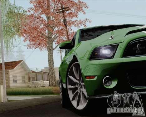 Ford Shelby GT500 Super Snake 2011 для GTA San Andreas вид сбоку