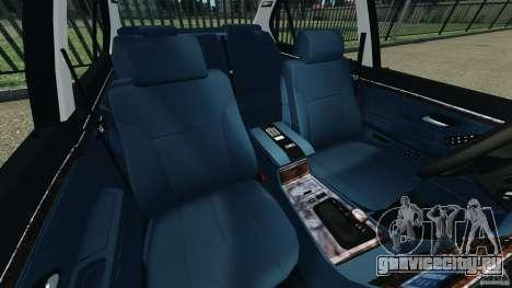 BMW 750iL E38 1998 для GTA 4 вид изнутри