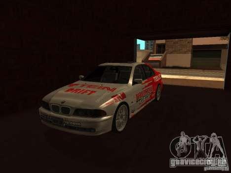 BMW 5-er E39 v2 для GTA San Andreas