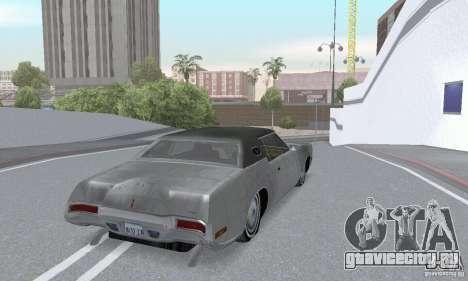 Lincoln Continental Mark IV 1972 для GTA San Andreas вид сбоку