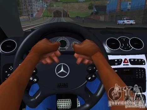 Mercedes-Benz CLK55 AMG для GTA San Andreas двигатель