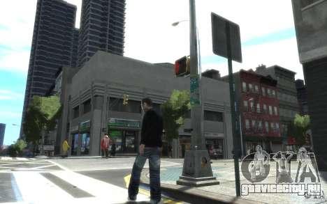 Джинсы и футболка для Нико для GTA 4 второй скриншот