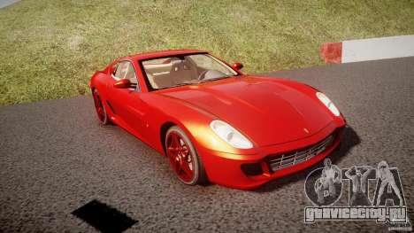 Ferrari 599 GTB Fiorano 2006 (Beta) для GTA 4 вид сзади