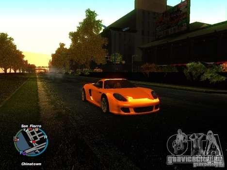 Porsche Carrera GT 2003 для GTA San Andreas вид слева