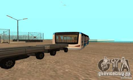 Design X XAPGL для GTA San Andreas вид сзади слева