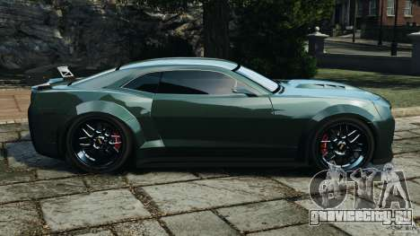 Chevrolet Camaro SS EmreAKIN Edition для GTA 4 вид слева