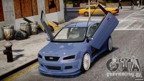 Ford Focus ST (X-tuning) для GTA 4 вид сбоку
