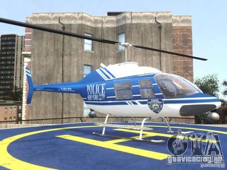 Bell 206 B - NYPD для GTA 4