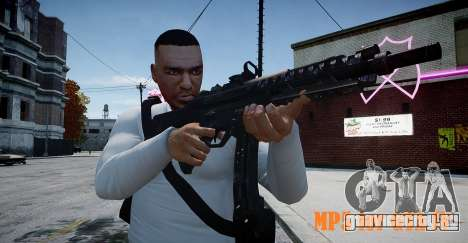 MP5 (CoD: Modern Warfare 3) для GTA 4