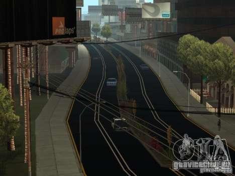 New Roads in San Andreas для GTA San Andreas второй скриншот