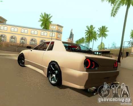 Elegy Drift Korch для GTA San Andreas вид справа