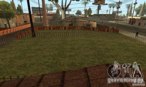 Grove Street 2013 v1 для GTA San Andreas седьмой скриншот
