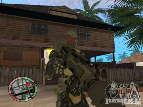 Сборник оружий Crysis 2 для GTA San Andreas девятый скриншот