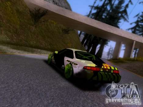 Nissan Silvia S14 Matt Powers v3 для GTA San Andreas вид слева