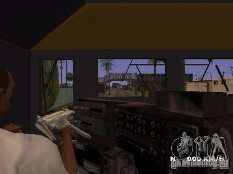 SD 40 UP BN Santa Fe для GTA San Andreas вид сзади